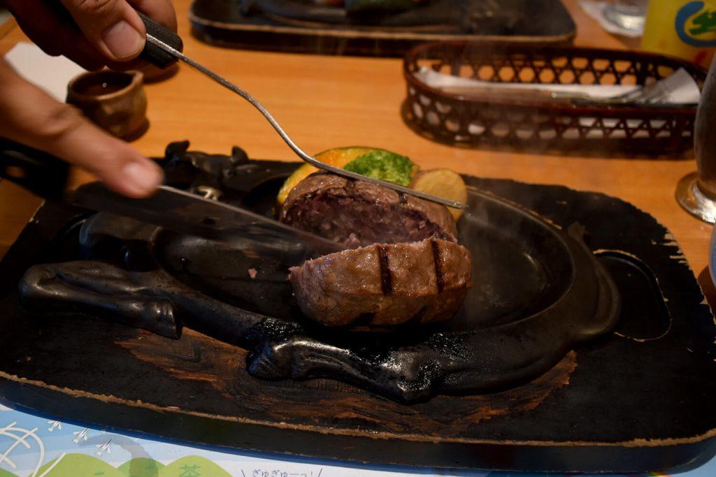 浜松をドライブ!car trip 浜松 炭焼きレストランさわやかのハンバーグ