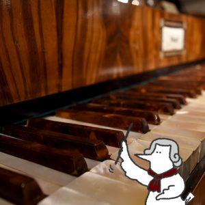 カトリさん、新しい音との出会いー楽器博物館への旅