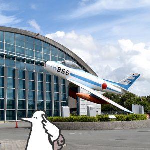 カトリさん、飛ぶー航空自衛隊浜松広報館 (エアーパーク)への旅