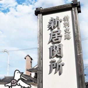 カトリさん、江戸へタイムスリップー特別史跡 新居関所への旅