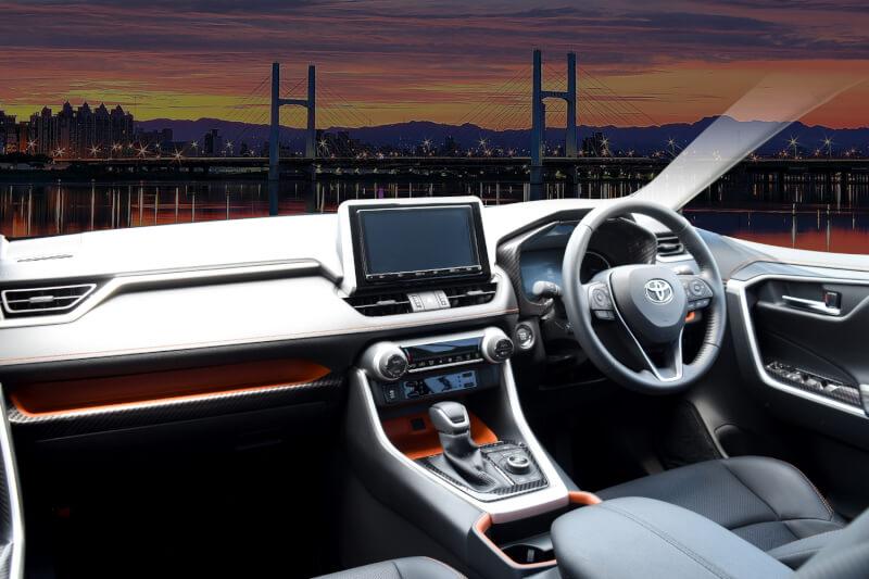 トヨタRAV4に内装パネルが新登場!