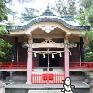 カトリさん、出世を願うー浜松元城町東照宮への旅