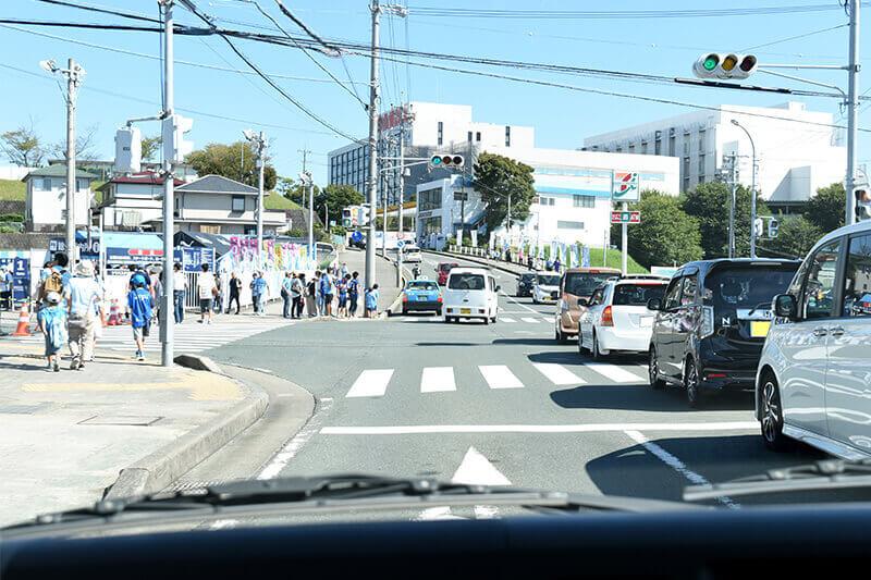 浜松をドライブ!car trip ヤマハスタジアム