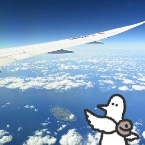 カトリさん、タイに出発ー海外旅行 タイへの旅