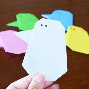 カトリさん、折り紙で自分を作るーおうちで楽しむ折り紙
